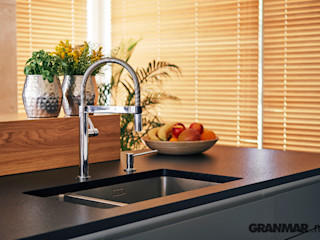 Granit Nero Zimbabwe - antykowany GRANMAR Borowa Góra - granit, marmur, konglomerat kwarcowy KuchniaBlaty Granit Czarny