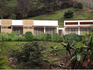 Hincapie Idarraga Estudio Country house Concrete Beige