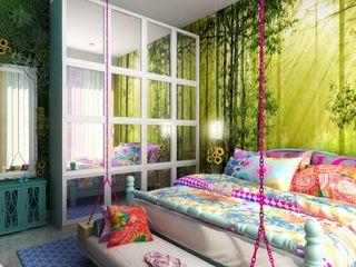 Vinyaasa Architecture & Design Scandinavian style bedroom