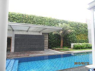 10 Gambar Desain Taman Vertikal (Vertical Garden) Tukang Taman Surabaya - flamboyanasri Hotel Modern