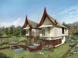 Vinyaasa Architecture & Design Asian style houses