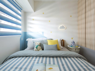 寓子設計 İskandinav Çocuk Odası