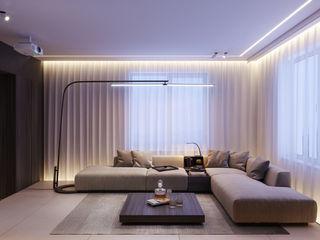 Suiten7 Minimalist Oturma Odası Bej