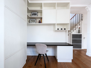 Anne Lapointe Chila Modern Study Room and Home Office