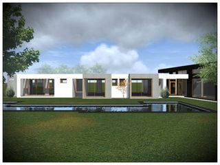 Vicente Espinoza M. - Arquitecto 一戸建て住宅