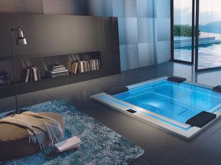 Treesse Design-Whirlpools aus Italien- Luxus für Indoor & Outdoor SPA Deluxe GmbH - Whirlpools in Senden BadezimmerWannen und Duschen Weiß