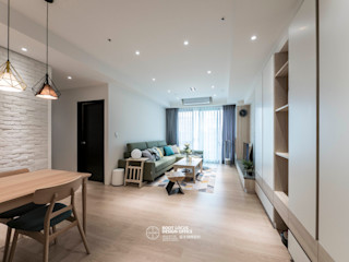 台中 劉公館 日光寓二 築本國際設計有限公司 客廳