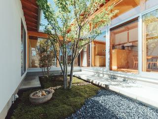 稲山貴則 建築設計事務所 Zen garden Wood Wood effect