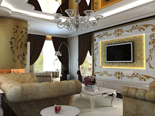 ANTE MİMARLIK Classic style living room