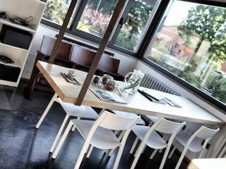 Barbara for Hair Federica Rossi Interior Designer Negozi & Locali commerciali in stile eclettico