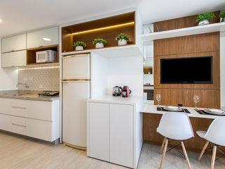 Samantha Sato Designer de Interiores Petites chambres Blanc