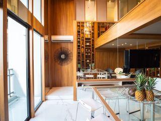 Interior Apartment - Pancoran Bobos Design Ruang Keluarga Modern