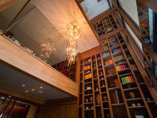 Interior Apartment - Pancoran Bobos Design Ruang Media Klasik