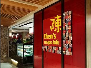 Restaurant - Singapore Mapo Bobos Design Gastronomi Gaya Asia Red