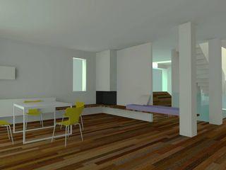 VILLA Z - Concept Ing. Massimiliano Lusetti Soggiorno minimalista