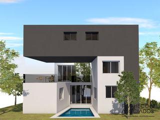Pacheco & Asociados Single family home Concrete Grey