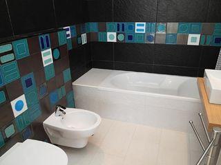Atelier Ana Leonor Rocha Eclectic style bathroom