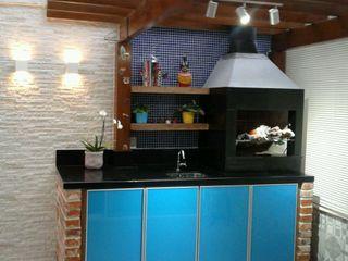 Rita Corrassa - design de interiores Apartman Cam Mavi
