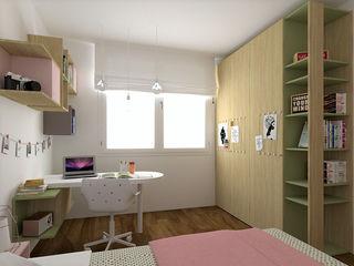 Cameretta Angela OGARREDO Studio in stile scandinavo
