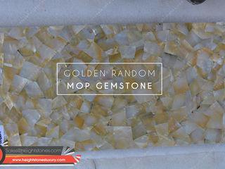Height Stones Ruang Makan Klasik Batu Yellow