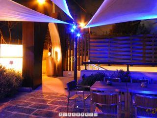 Moreno Licht mit Effekt - Lichtplaner Bars & clubs originaux Pierre Multicolore