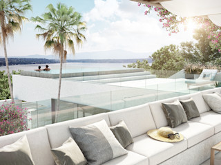 DELTA Infinity pool Granite White