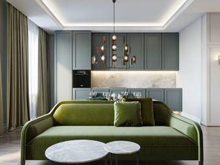 Suiten7 Klasik Yemek Odası Bakır/Bronz/Pirinç Yeşil