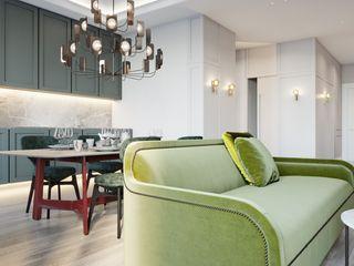 Suiten7 Klasik Mutfak Orta Yoğunlukta Lifli Levha Yeşil
