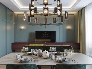 Suiten7 Klasik Yemek Odası Yeşil