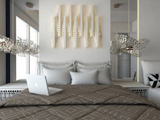 The Art Of Waste POWL Studio BedroomLighting