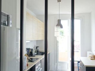 Rénovation d'un appartement Aix en Provence Sarah Archi In' Cuisine moderne