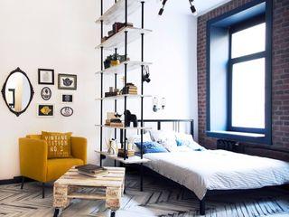 Bohostudio Scandinavian style bedroom