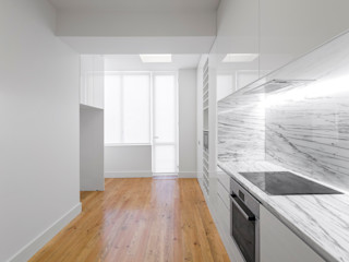 Apartamento Rodrigo da Fonseca III Padimat Design+Technic Cozinhas minimalistas Branco