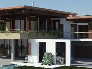 Villa R Ing. Massimiliano Lusetti Case moderne