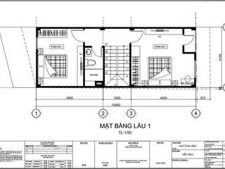 Xây Dựng Nhà Phố 1 Trệt 1 Lầu Sân Thượng 860 Triệu Tại Nhà Bè Công ty TNHH TK XD Song Phát Nhà gia đình Tre