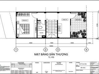 Xây Dựng Nhà Phố 1 Trệt 1 Lầu Sân Thượng 860 Triệu Tại Nhà Bè Công ty TNHH TK XD Song Phát Nhà gia đình Nhựa