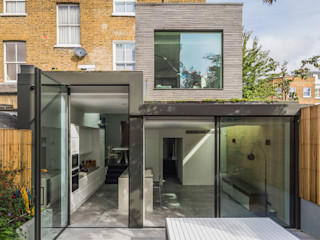 Petersen Brick House Neil Dusheiko Architects Modern home