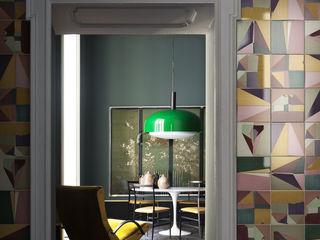 Ceramica Bardelli Salon minimaliste Tuiles Multicolore