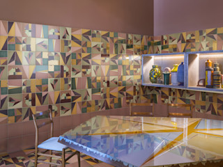 Ceramica Bardelli Salon moderne Tuiles Multicolore