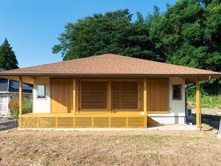 田園を望む現代の庵 FAD建築事務所 一戸建て住宅