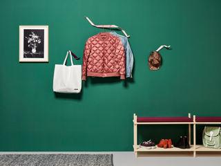 Garderobe aus Metall, Garderobenhaken für jede Wand Neuvonfrisch - Möbel und Accessoires Flur, Diele & TreppenhausKleiderständer und Garderoben Metall