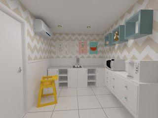 Fraldário Oria Arquitetura & Construções Quartos de bebê Multi colorido