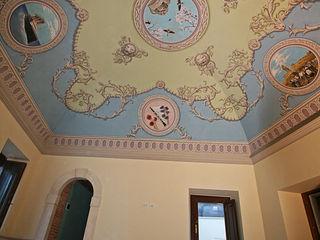 Decorazione su volta e pareti. Artmande ArteImmagini & Dipinti