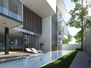NDC DESIGN Casas de estilo moderno