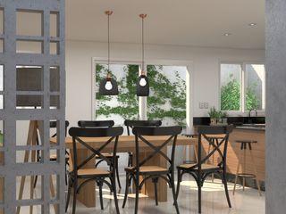 Studio MP Interiores مطابخ صغيرة خشب Wood effect