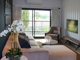 Exclusive villa community Sobha City Colonial style bedroom