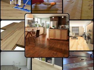 كاسل للإستشارات الهندسية وأعمال الديكور والتشطيبات العامة Floors MDF Grey