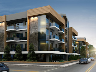 MİNERVA MİMARLIK Casas de estilo moderno