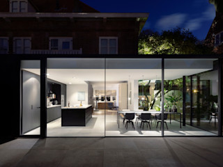 Bloot Architecture Ruang Makan Minimalis Kaca