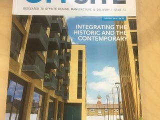 Offsite Publication Nov / Dec 2018 Building With Frames Prefabricated home Wood